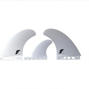 Future Fins T1 Thermotech Twin Fins + trailer( white )-0