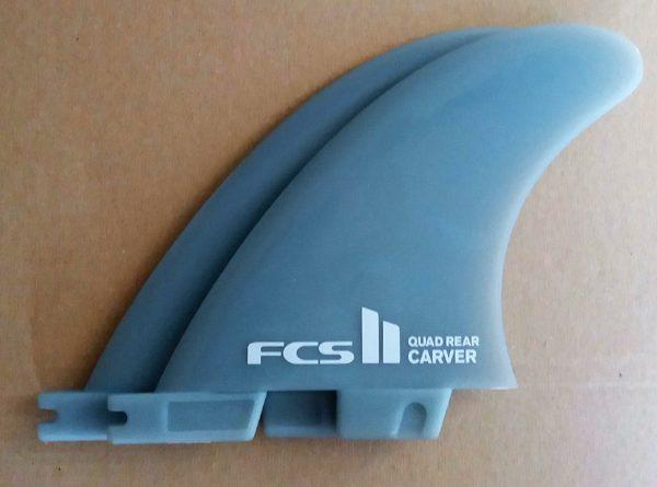 FCS11 Carver rear quad fins