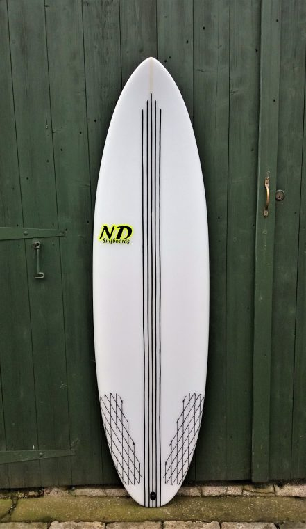 6ft Bandit shortboard for sale