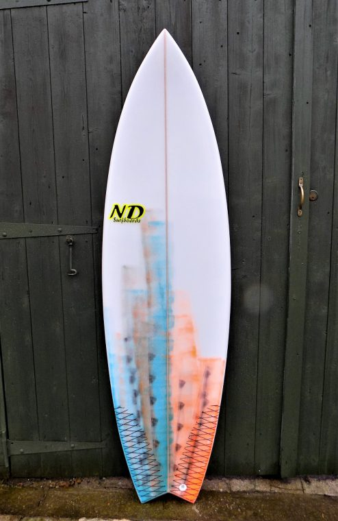 Fish Surfboard, Performance swallow tail