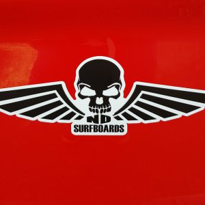 ND Surfboards, Bumper sticker