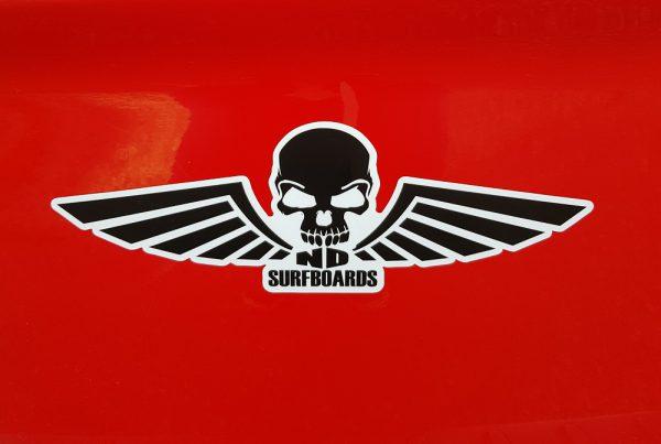 ND Surfboards, Bumper sticker