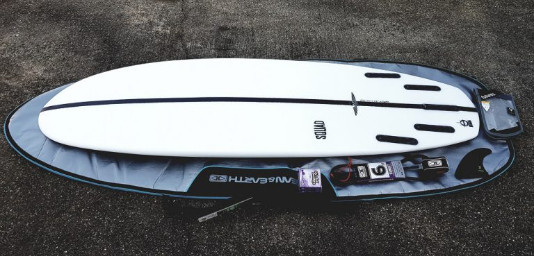 Simmons Squad surfboard