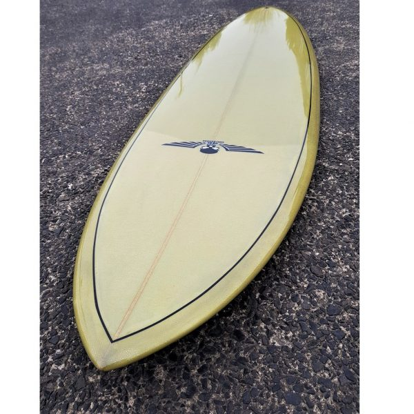 Mid Range Pin Tail Surfboard for sale