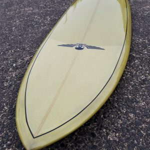 Midrange surfboards, Single fin surfboard