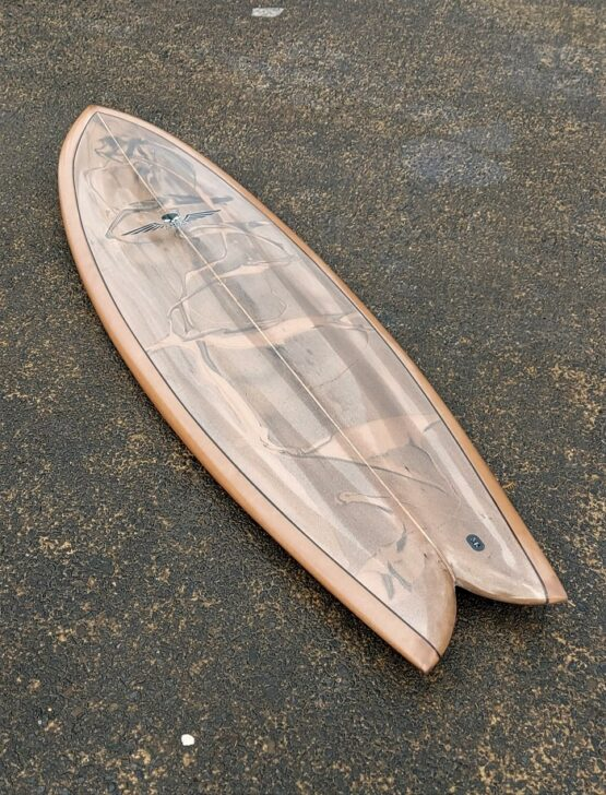 Twin Fin Fish Surfboard